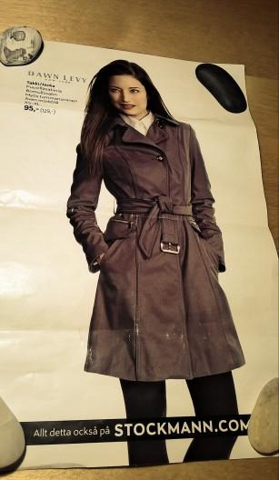 Ruskea takki