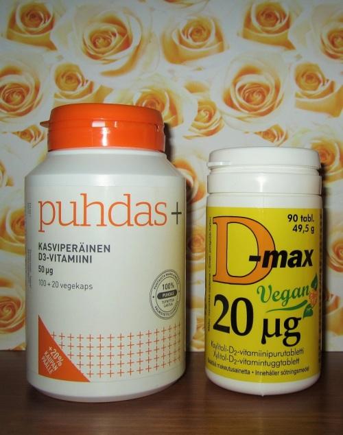 D-vitamiinit