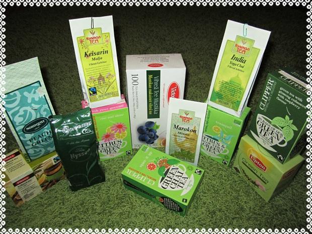 vihrea tee