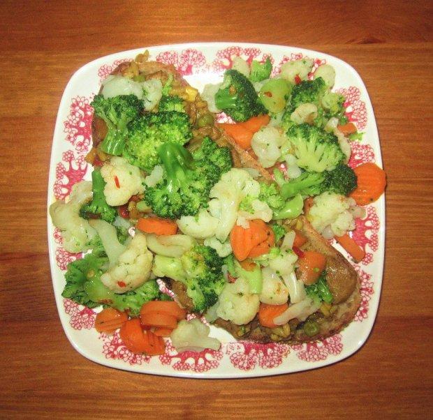 pataruokaa ja parsakaalia leivalla