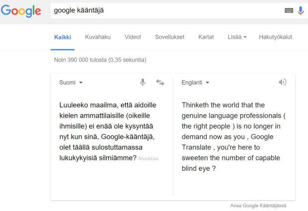 Google-kääntäjä 2