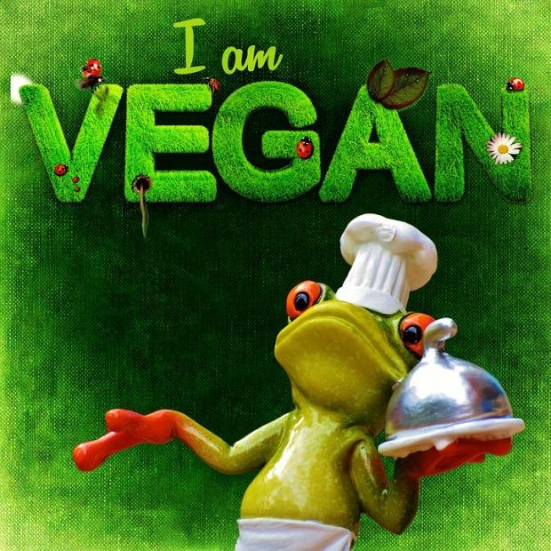 olen vegaani