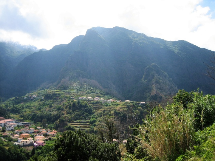 Madeiran São Vicente kesällä 2012.